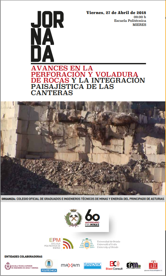 Jornada: Avances en Perforacion y Voladura de Rocas y Restauración paisajística